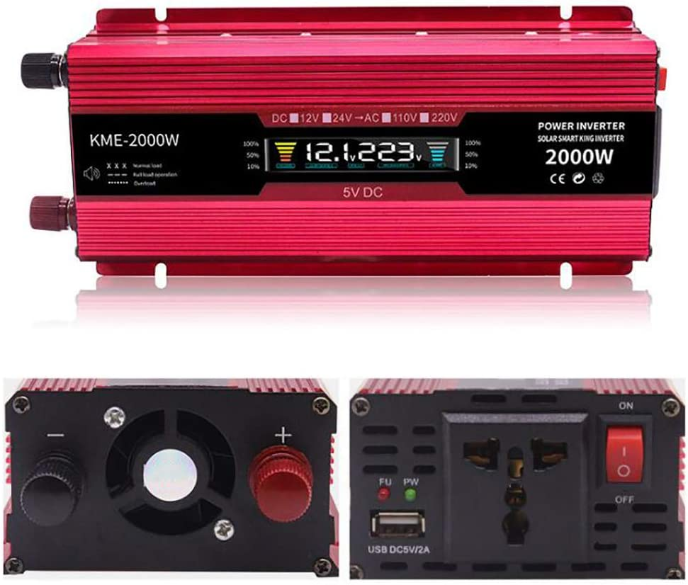 Gifts Excellent ANJING DC to AC Car Power Inverter Converter wi 600W Transformer