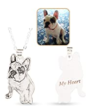pet engraved necklace