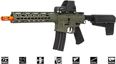 KRYTAC Trident MK2 CRB: AEG / Black / 6mm Airsoft Gun / Rifle (Forest Green)