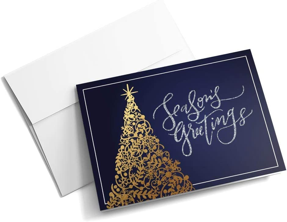 Product Spiraling Pines Max 81% OFF - Christmas Cards wit 25 Junior Greeting