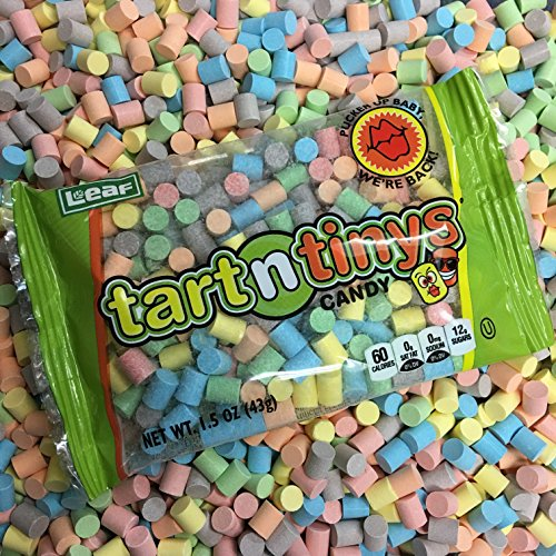Classic Tart n' Tinys Candy - 12 COUNT 1.5oz Packs - Fresh Tart and Tiny Candy!