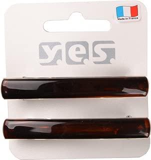 Solida 发夹 小号 法国制造 2 件装 2 × 2 件 棕色