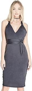 GUESS Women's Sleeveless Joan Halter Dress