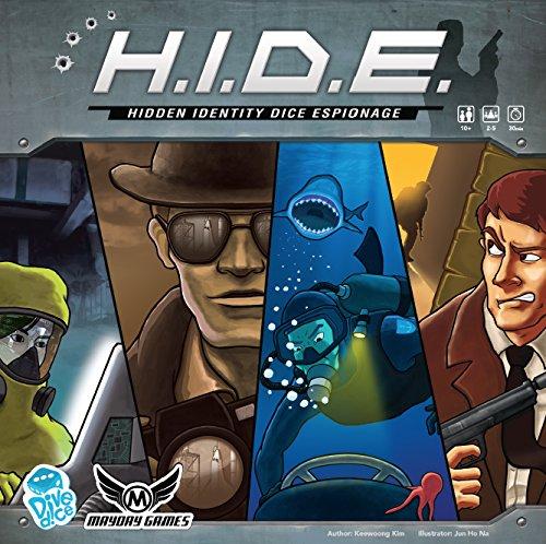 H. I. D.E versteckt Identity Würfel Espionage