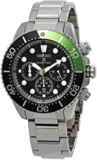 Prospex Sea Diver's 200m Chronograph Solar Sports Watch Green SSC615P1
