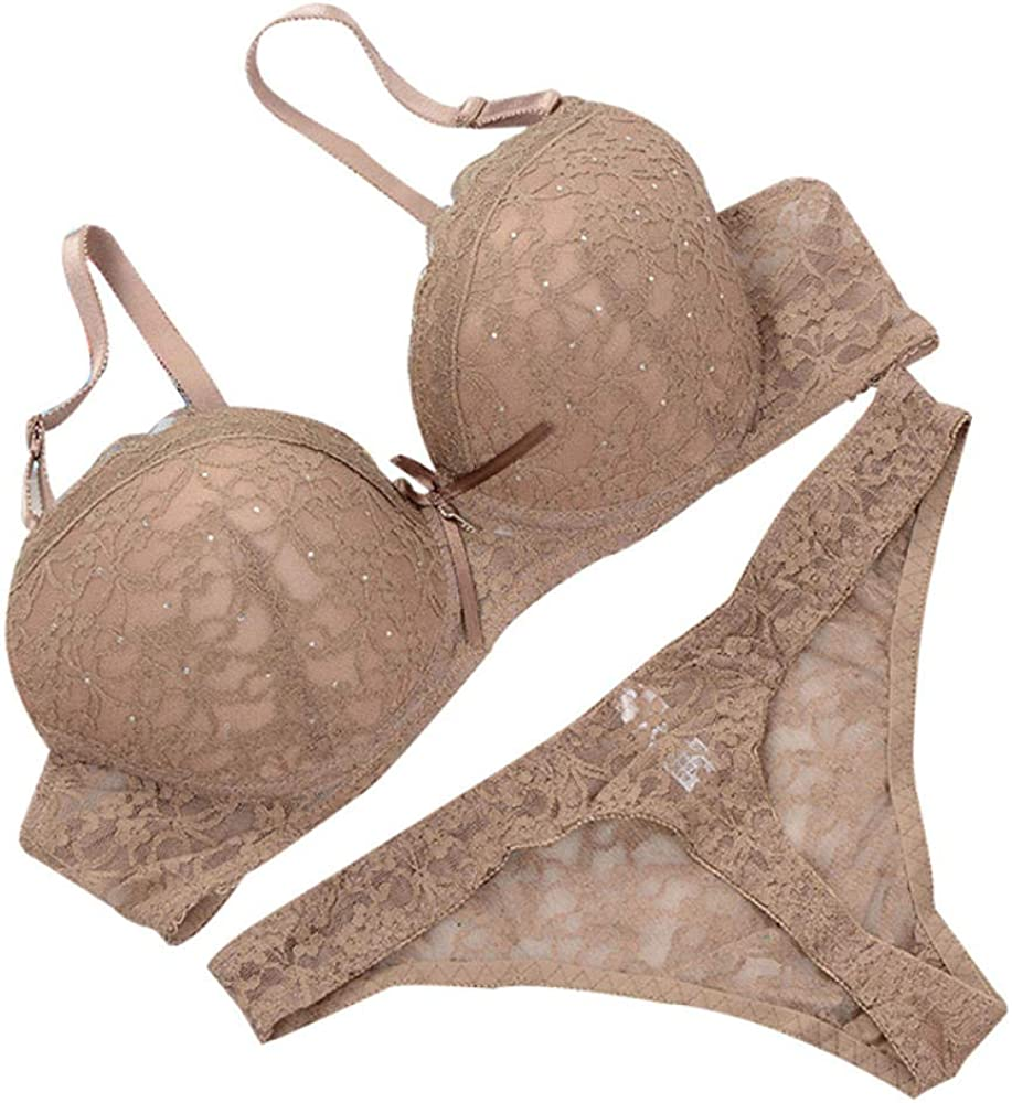 Support Bra Racerback Lace Set Underwear Push Women OFFicial New products, world's highest quality popular! site S Up