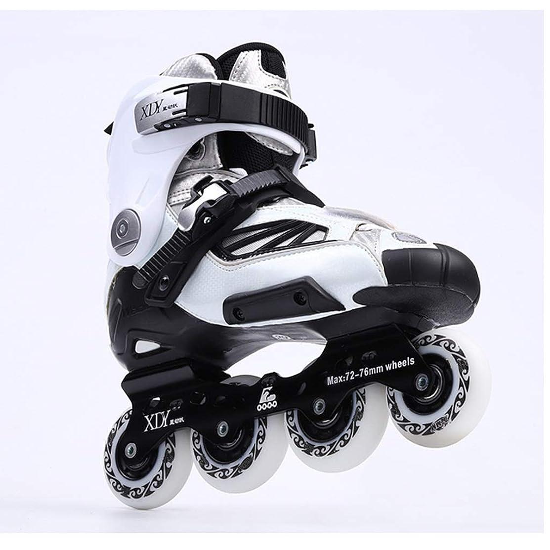 変化する感情カプラーZHANGHAIMING 高性能インラインスケート、成人男性用および女性用単列スケート、ファンシーグレードアップローラースケート、35?41ヤード (Color : B, Size : EU 37/US 5/UK 4/JP 23.5cm)
