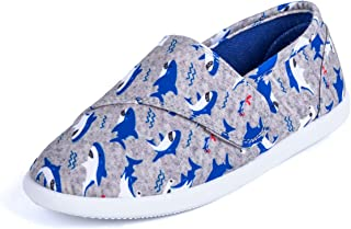 Kids Slip on Canvas Sneakers Baby Toddler Girl and Boys Canvas Shoes