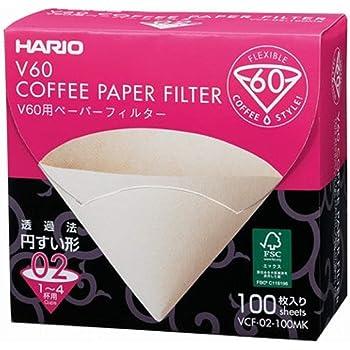 100 hojas en caja VCF-02-100 mK 1-4 tazas Hario V60 para el filtro de papel M (jap?n importaci?n)