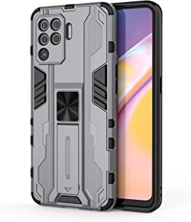 Wuzixi Compatible with Realme Q3 Pro Carnival Case, TPU/PC 2 in 1 Mixed Armor Protective Cover Case, Double Protection she...