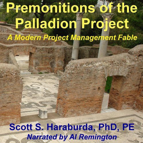 Premonitions of the Palladion Project audiobook cover art