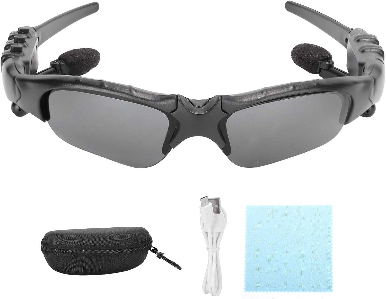 Socobeta Smart Glasses Outdoor Sunglasses with Bluetooth Headphones
