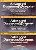 I3 Pharaoh, I4 Oasis of the White Palm, I5 Lost Tomb of Martek Advanced Dungeons & Dragons Module Bundle (Desert of Desolation, I3-5)