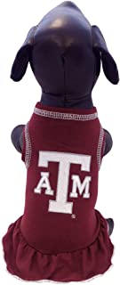 Game Day Dogs Texas A&M Aggies Cheerleader Dog Dress