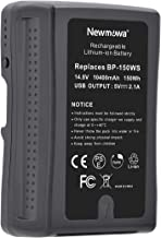 BP-150WS Newmowa 150Wh (10400mAh) Replacement V Mount/V-Lock Battery Compatible with Sony Camera Camcorder Broadcast Repla...