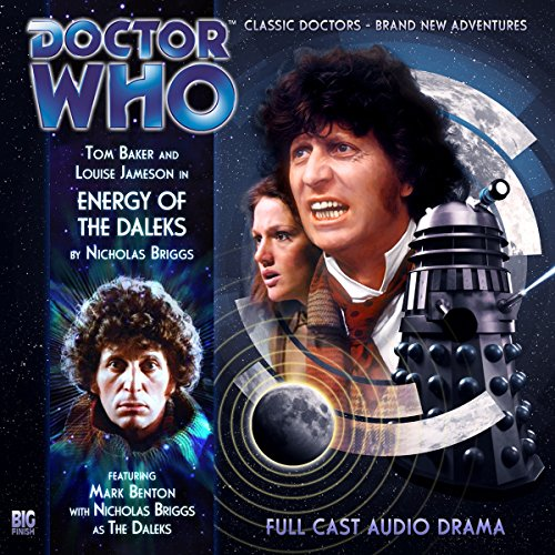 Doctor Who - Energy of the Daleks audiobook cover art