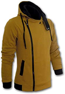 New Casual Cardigan Long Sleeved Slim Fit Male Zipper Hoodies Assassins Creed Jacket Plus Size M-6XL