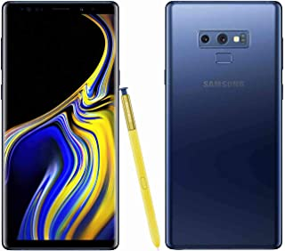 Samsung Galaxy Note 9 N960U 128GB T-Mobile GSM Unlocked Phone  (Ocean Blue, 128GB)(Renewed)