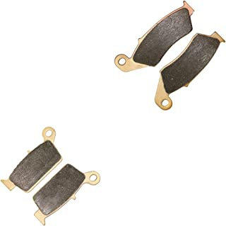 CNBK Sintering HH Brake Shoe Pads Set for SUZUKI Dirt Bike DR-Z400 DRZ DR-Z 400 cc 400cc S E 2000 2001 2002 2003 2004 2005 2006 2007 2008 2009 00 01 02 03 04 05 06 07 08 09 4 Pads
