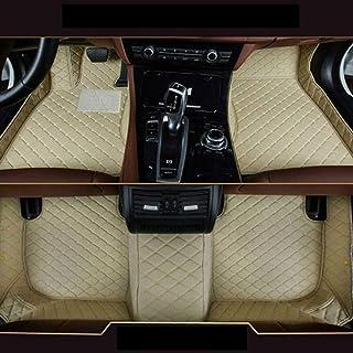 8X SPEED Auto Fußmatten Leder Bodenmatte für B MW 5 Series Touring 2011 2016,Volldeckung wasserdichte Anti Rutsch Anti Kratz Beige Automatten