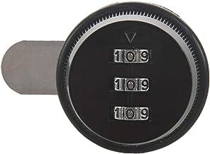 CKMSYUDG Legering Code Combinatie Cam Lock Keyless Post Mail Box Kast RV 3 Dial Zwart