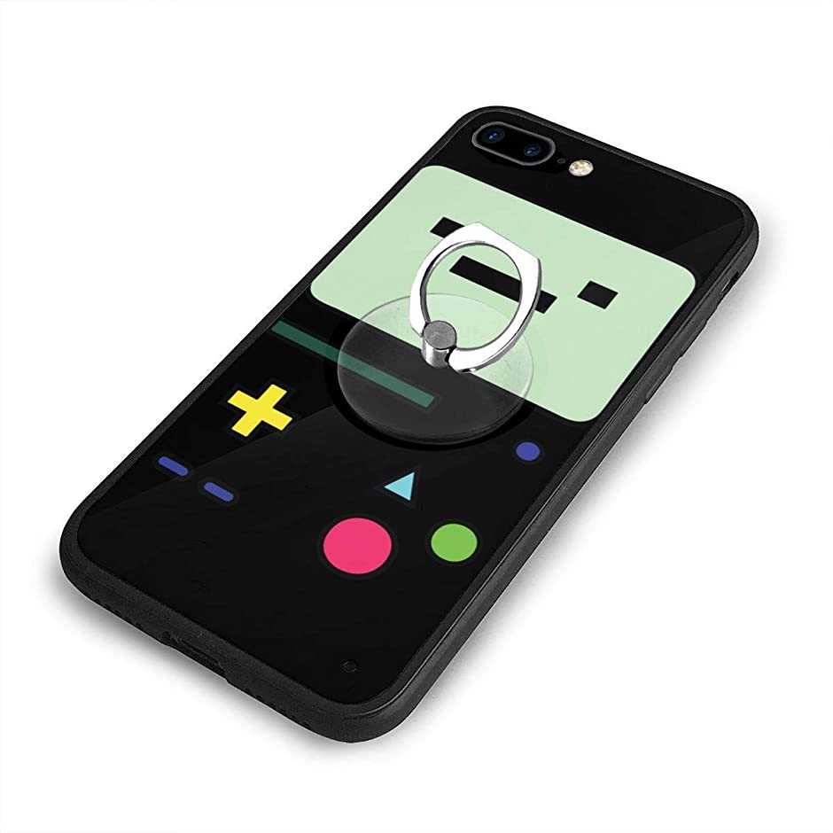 世界の窓広告主乳剤ロボット ビーモ Beemo iPhone 7/8 Plusケースリングブラケット 携帯カバー 創意デザイン軽量 傷つけ防止 360°回転ブラケット 携帯ケース PC 衝撃防止 全面保護
