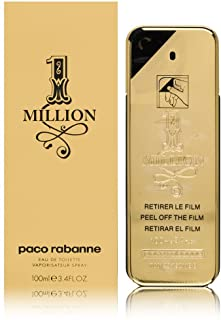 Paco Rabanne 1 Million by Paco Rabanne for Men Edt Spray 3.4 Fl Oz