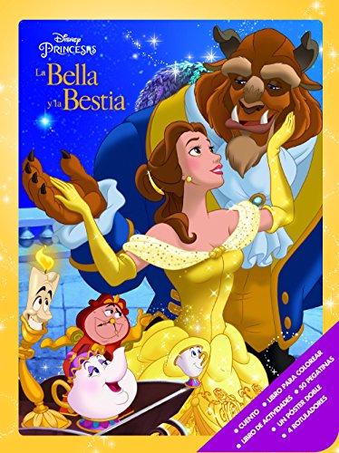 La Bella y la Bestia. Caja metálica (Disney. La Bella y la Bestia)