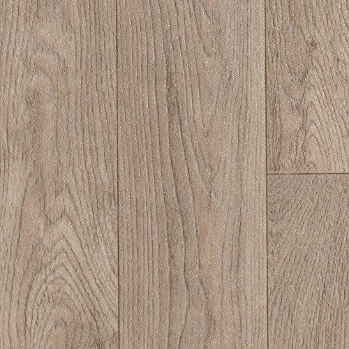BODENMEISTER BM70568 Vinylboden PVC Bodenbelag Meterware 200, 300, 400 cm breit, Holzoptik Diele Schiffsboden Eiche