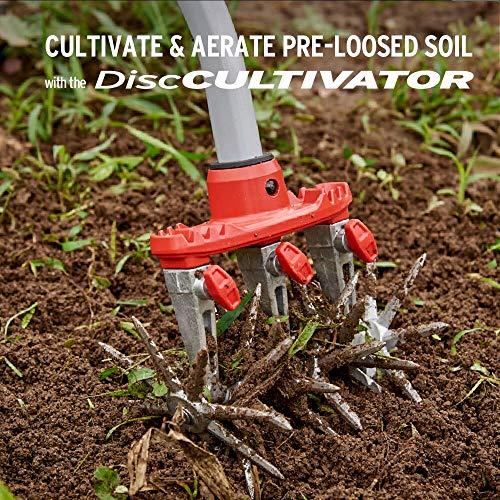 Corona LG 3634 DiscCULTIVATOR Garden Disc Cultivator, Red