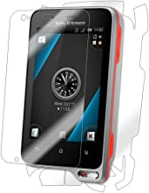 IQ Shield Full Body Skin Compatible with Sony Ericsson Xperia Ray + LiQuidSkin Clear (Full Coverage) Screen Protector HD a...