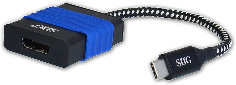 SIIG USB C Max 53% OFF to DisplayPort 4K 60 Hz Type Converter Latest item Adapter