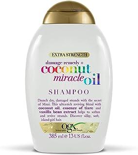 OGX Champú Coconut Miracle Oil, para Tu Cabello Seco o Dañado - 385 ml