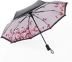 Fully Automatic for Women Gift Fashion 24 Months Warranty Windproof Sun Rain Ladies Umbrellas,Makeup Powder