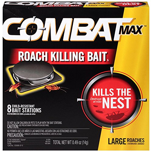 Combat Combat1258 MAX Killing Roach Bait Station 16Pack