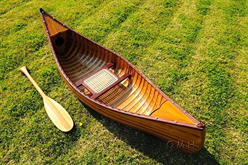 Old Modern Handicrafts 6 Feet Canoe with Ribs