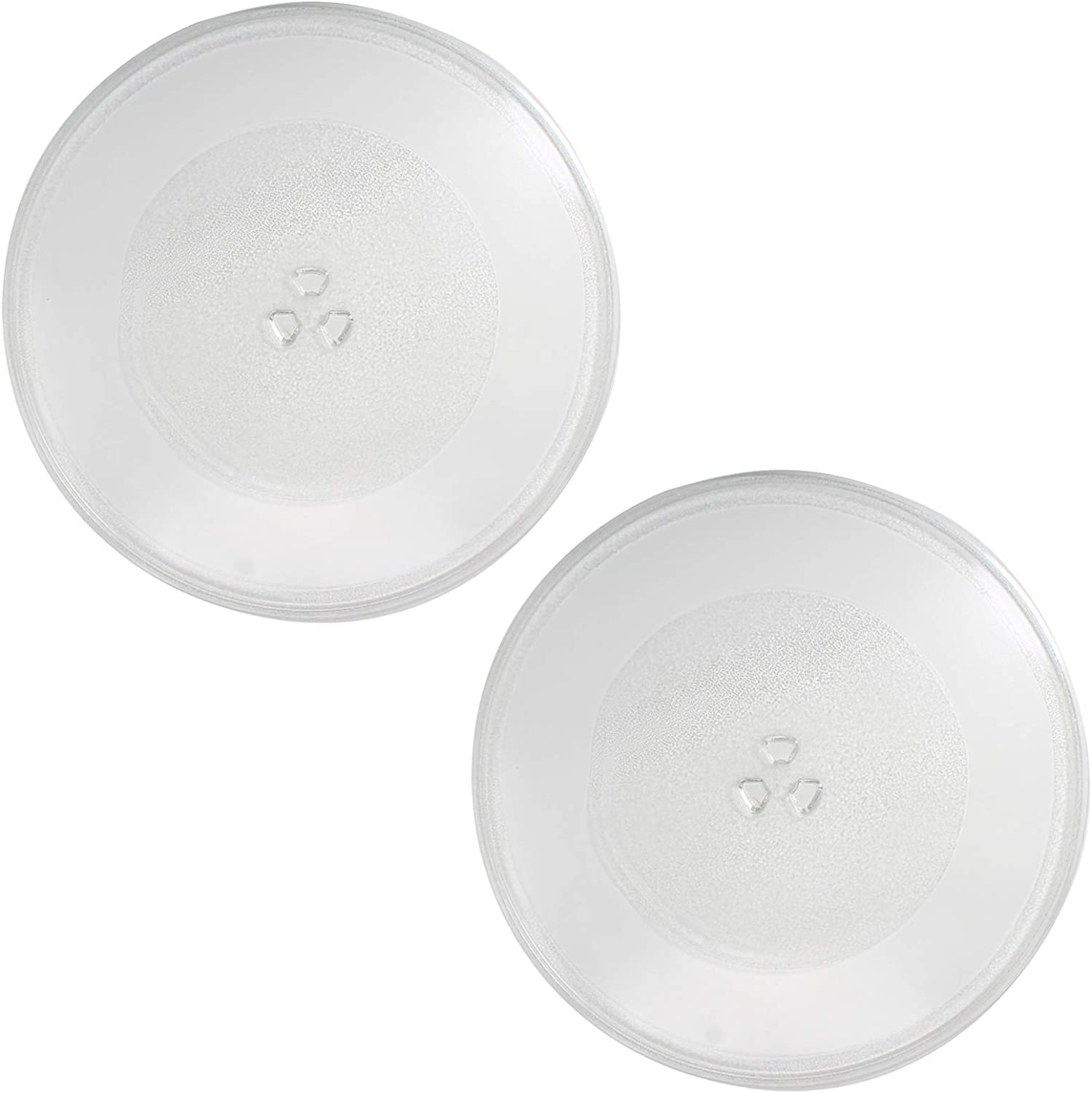 2-Pack NTNT-A108 Microwave Glass 67% OFF of fixed price Plate price for Replacement Turntable