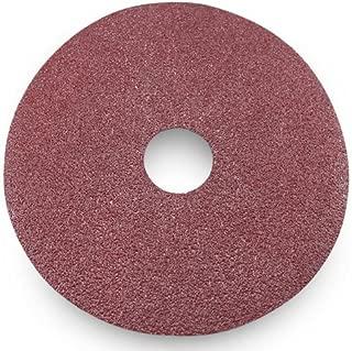 Black Hawk Aluminum Oxide Resin Fiber Discs, 80 Grit, 5-Inch Diameter x 7/8-Inch Arbor Hole, Pack of 25