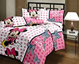 Renown MissMinnie Cartoon Design Print Reversible Single Bed Quilt / AC Blanket / Dohar ( Pack of 1 Pc )