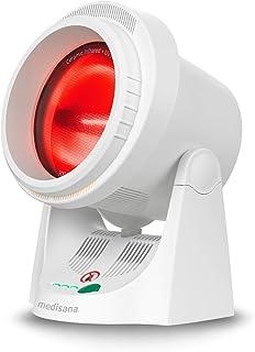 Medisana IR 850 Infrarood Warmtelamp, 300 W, Warmteradiator Om De Spieren Te Ontspannen, Timerfunctie en Uv-Lichtbescherming