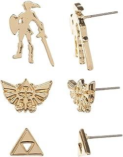 Legend of Zelda Earrings Zelda Gift - Legend of Zelda Accessories Zelda Jewelry