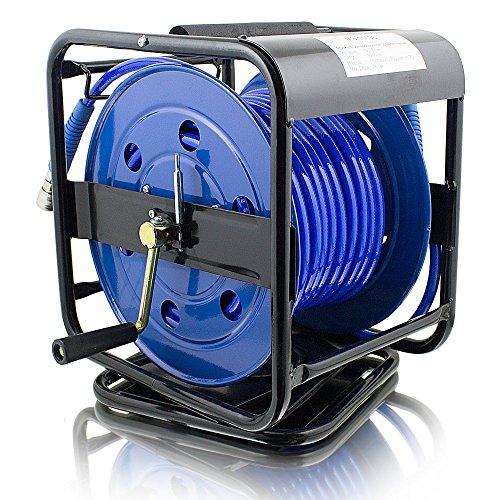 ms-point 30 Meter Manuelle Druckluft Schlauchtrommel Druckluftschlauchtrommel Trommel Aufroller - 3