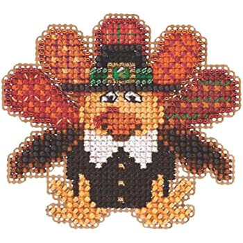 Mill Hill Hot Cider Beaded Counted Cross Stitch Ornament Kit 2018 Autumn Harvest MH181826