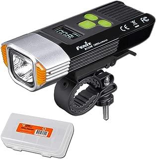 Fenix BC35R 1800 Lumen Burst OLED Display USB Rechargeable Bicycle Light with LumenTac Organizer
