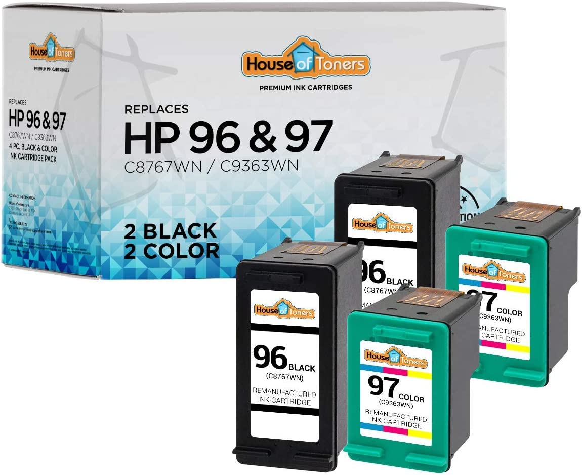 HouseOfToners Remanufactured Ink Cartridge 商い HP 驚きの価格が実現 Replacement for 96