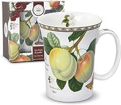 Royal Botanic Gardens Kew Les Fruits Du Jardin Porcelain Mug with Gift Box, 12-Ounce