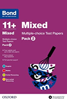 Bond 11+: Mixed: Multiple-choice Test Papers: Pack 2