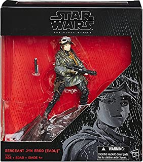 Star Wars Rogue One Sergeant Jyn Erso (eadu) Black Series