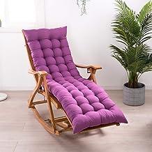 YLLN Thick Padded High Back Chair Cushion Garden Sun Lounger Cushion Pads,Recliner Soft Mattress Booster Cushion Seat Pad ...
