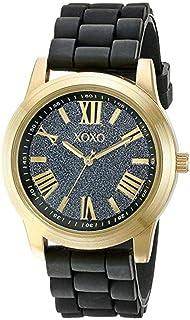 اكس او اكس او ساعة رسمية نساء انالوج بعقارب بلاستيك مطاطي - XO8085